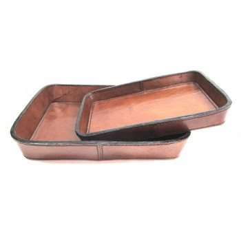 Set of 2 coin trays