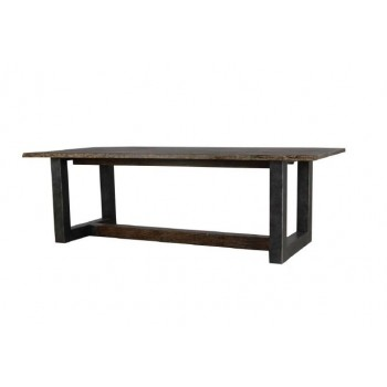 Edged dining table