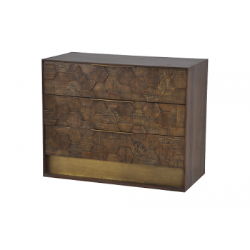 Honey Chest Of 3 Drawers