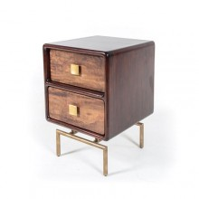 Marvin 2 Drawer Side Table