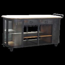 Bernadette Metal Shop Cabinet