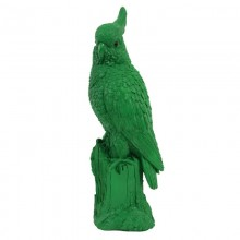 Coinbank  green cockatoo