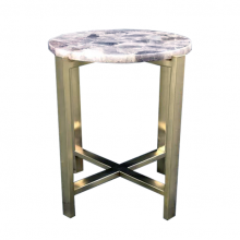 Smoky Quartz Side Table