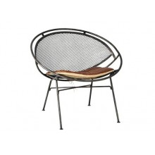 Parson Metal Lounge Chair