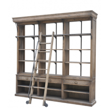 Victoria Large Bookcase With Ladder