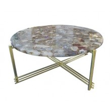 Black Agate Coffee Table