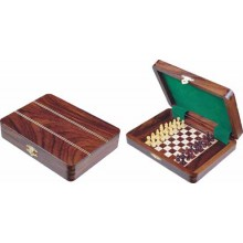 Wooden Travel Pagged Chess