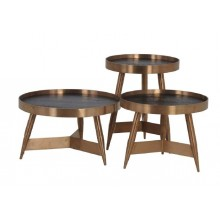 Franklin round sidetable