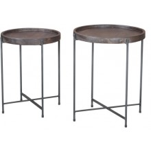 Tray Set Of 2 Side Table